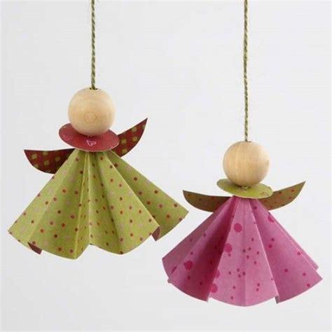 Engel Origami - engel aus vivi gade origamipapier