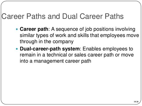 Post Mba Career Paths List by Mba760 Chapter 10