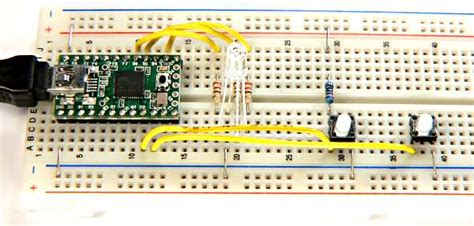 arduino activate pull up resistor teensyduino tutorial 3 input pins and using arduino s serial monitor with teensy