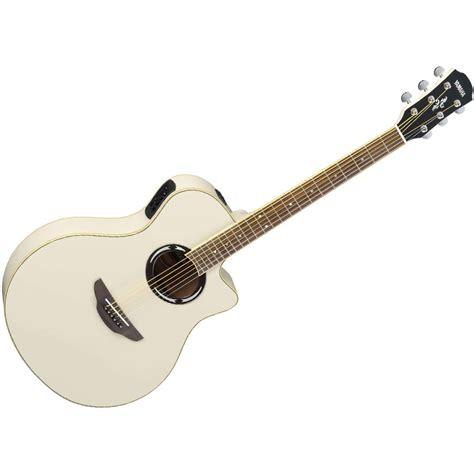 Gitar Akustik Elektrik Yamaha Apx500ii Apx 500 Apx500 Apx 500ii yamaha apx500ii electro acoustic guitar vintage white