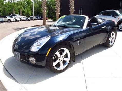 how to learn about cars 2008 pontiac solstice engine control buy used 2008 pontiac solstice 2dr conv in wesley chapel florida united states