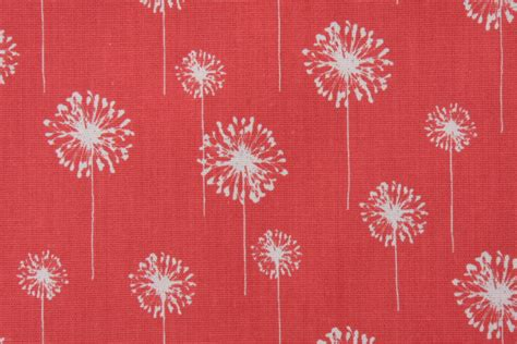 Upholstery Fabric Remnants Premier Prints Small Dandelion Printed Cotton Drapery