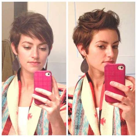 haircut before or after holiday really trendy asymmetrical pixie cut short hairstyles