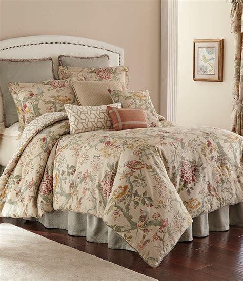 rose tree comforters tree biccari vintage floral geometric reversible comforter set dillards