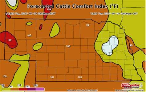 comfort index weather forecast expect high heat indices after july 4