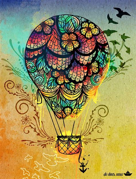 imagenes uñas mandalas ilustra 231 227 o balloon de duas uma design ilustra 231 245 es e
