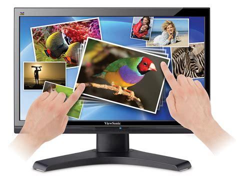 viewsonic announces vx2258wm touchscreen monitor and