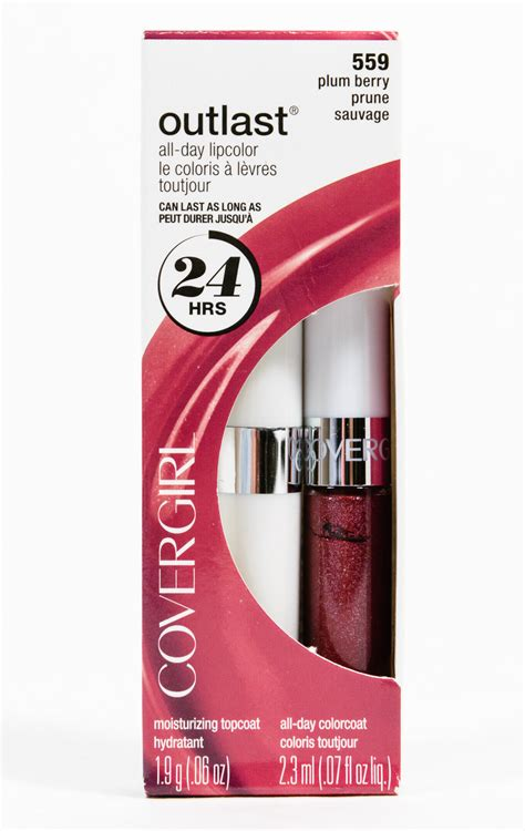 covergirl outlast lip color covergirl outlast all day lipcolor lipstick top coat