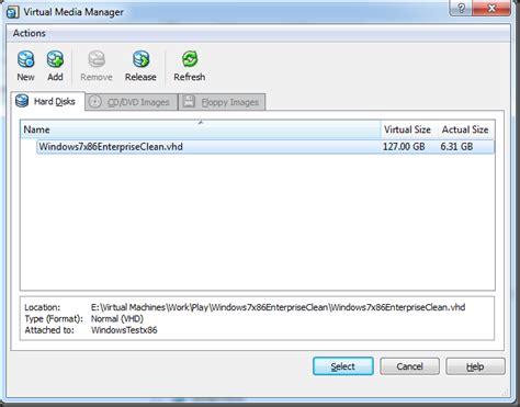 windows 7 bsod 0x0000007b 0x80786b58 0xc0000034 olly s blogs virtualbox using hyper v vhd image