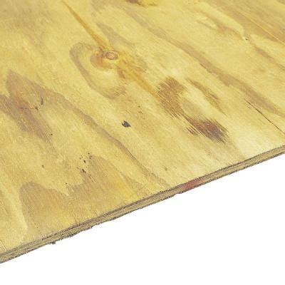 plywood home depot pressure treated plywood sheathing common 15 32 in