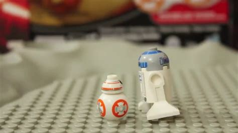 lego bb8 r2d2 is jealous of bb 8 bb8 bb 8 lego wars