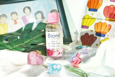 review biore perfect cleansing water reginapit