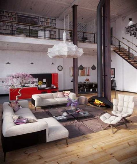 loft living ideas modern loft living spaces blending organic design and