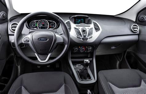 New Ka Interior ford do brasil unveils new ka hatchback sedan for global