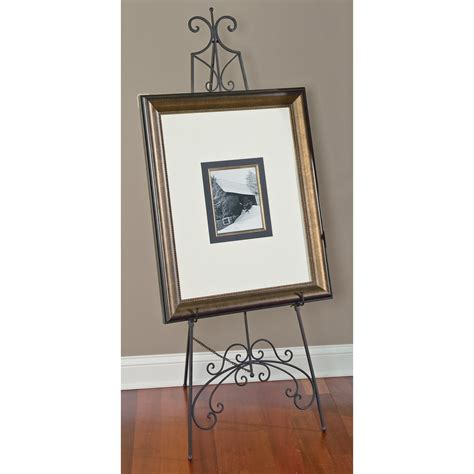 floor easel for mirror decorative metal floor easels