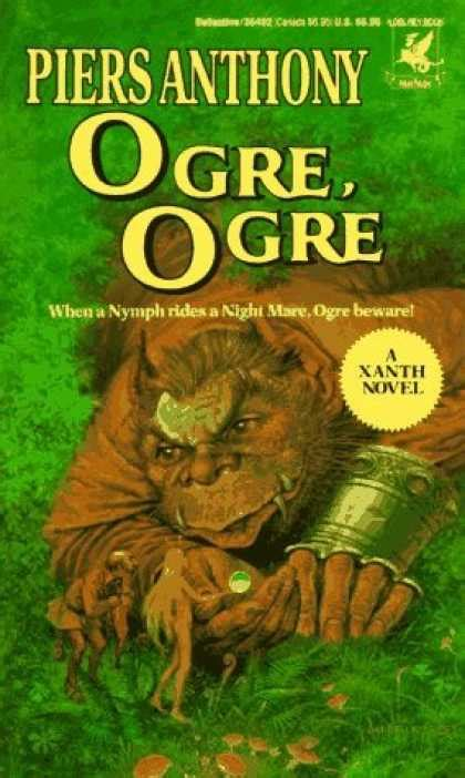 the ogress books xanth series by piers anthony stu station