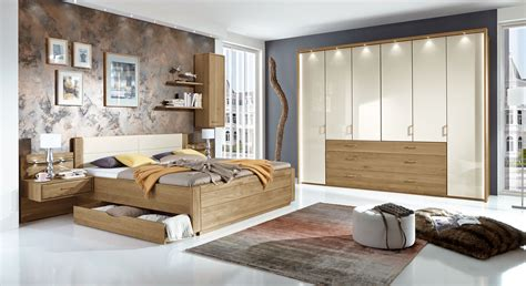 schlafzimmer komplettset teilmassives schlafzimmer komplett mit schubkastenbett