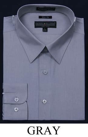 Slim Fit Shirt S S Contempo slim fit dress shirts mens gray sleeve de ds3003