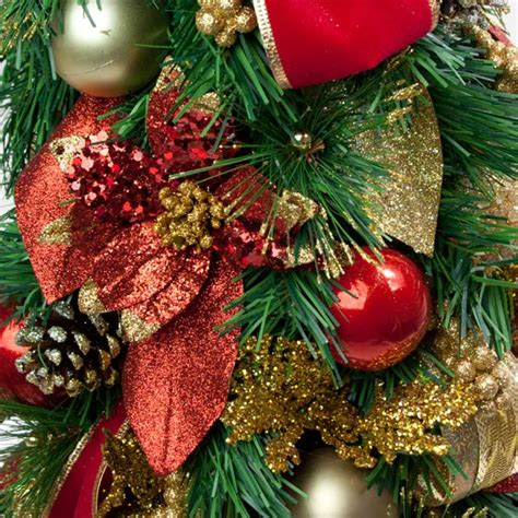 pot grown table top tree christmas trees delivered traditional room decoration collection tree in an ornate