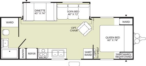 fleetwood travel trailers floor plans 2004 fleetwood pioneer travel trailer floor plans