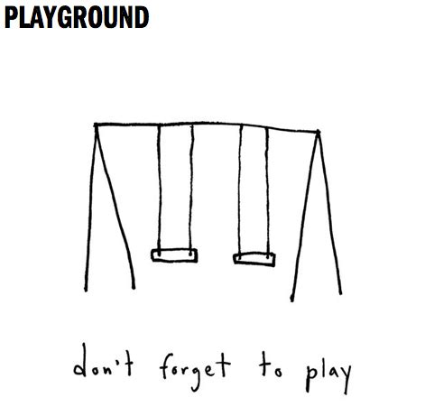 we swing too the unbearable lightness of swinging playgroundology