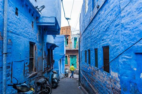 Find On Through Photos The Streets And Of The Blue City Of Jodhpur Rajasthan Lost With Purpose