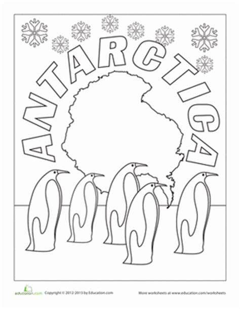 antarctica coloring pages antarctic animals coloring page pictures to pin on pinterest
