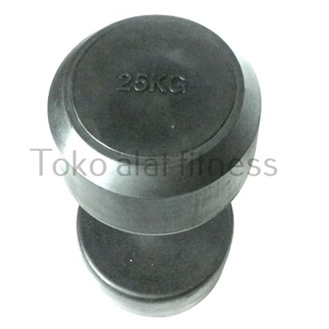 Dumbell Fix Rubber 5kg dumbell fix rubber 25kg toko alat fitness