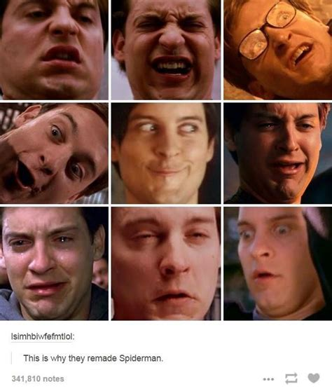 faces  expand worthy spider man