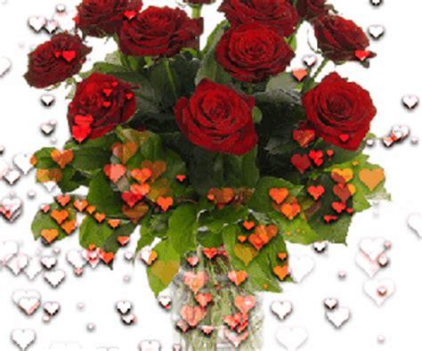 imagenes gif rosas rojas gif animados de rosas rojas y corazones imagenes de