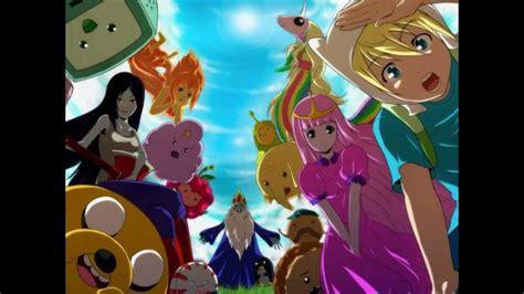 imagenes anime de hora de aventura hora de aventura estilo anime youtube
