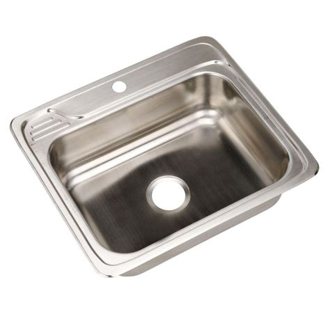 elkay stainless steel sinks elkay celebrity drop in stainless steel 25 in 1 hole