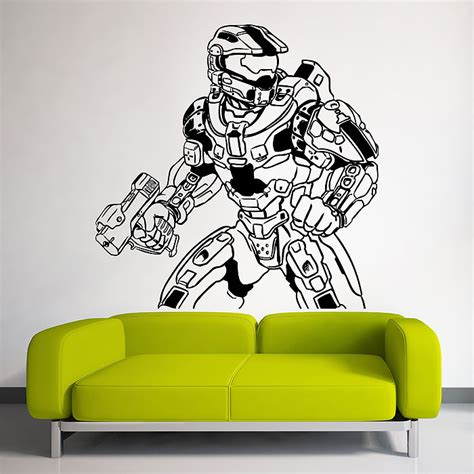 halo wall stickers wall decal awesome halo wall decals halo sticker halos