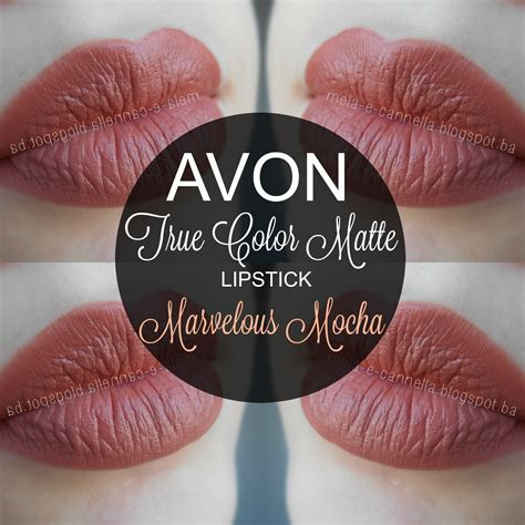 Avon Lipstick Latte mela e cannella avon true color matte lipstick marvelous mocha