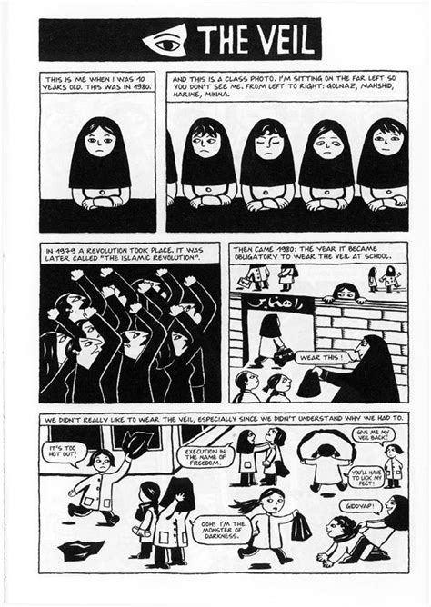 Themes In The Novel Persepolis | graphic novels images persepolis the veil hd wallpaper