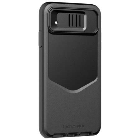 tech evo max iphone xr tough case  camera cover black
