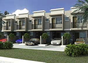 Row House Floor Plan Montville Place House And Lot In Sauyo Mindanao Ave Quezon