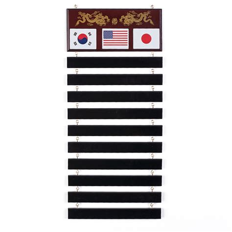 Martial Arts Belt Display Rack by Read Reviews Write A Review
