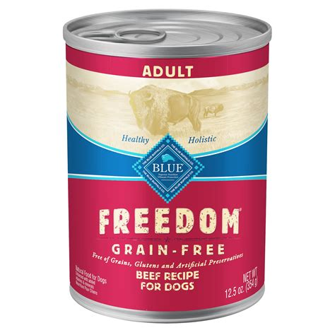blue buffalo canned puppy food blue buffalo freedom beef canned food petco