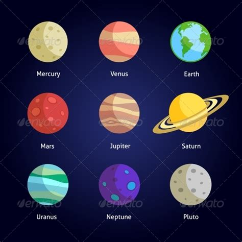 printable pictures planets outline nine planets pics about space