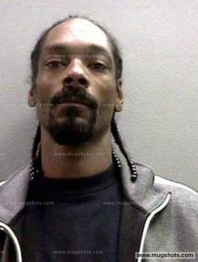 Does Snoop Dogg A Criminal Record Snoop Dogg Mugshot Snoop Dogg Arrest