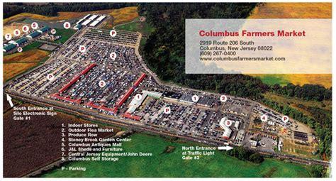 map usa flea market timings flea market columbus farmers market in columbus new