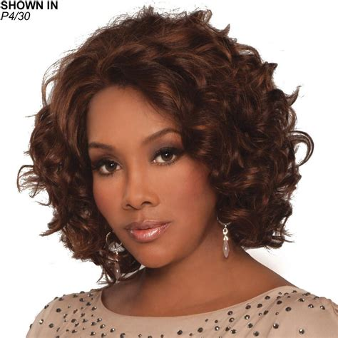 hair wigs chante lace front human hair 174 wig by vivica fox wig com