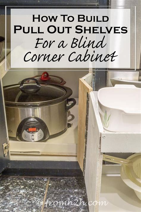 how to build a blind corner cabinet how to build pull out shelves for a blind corner cabinet