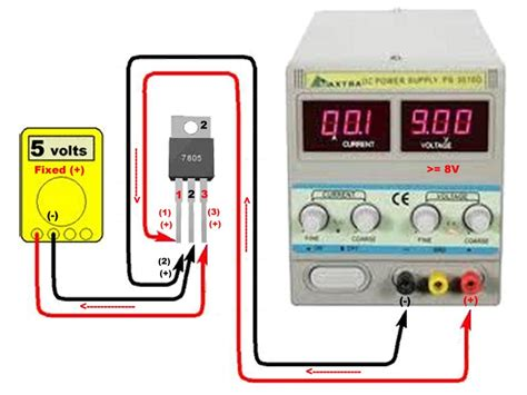 how to check integrated circuit using multimeter how to test a voltage regulator ic using multimeter