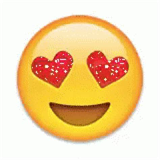 emoji gif emoji gif emoji hearteyes love discover share gifs