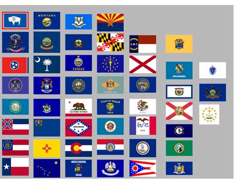 printable us flag quiz us state flags