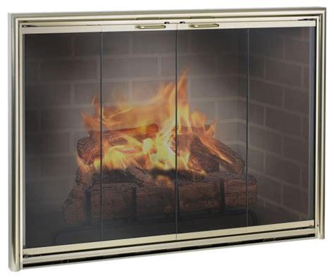 Fireplace Glass Doors Open Or Closed Smart Edinburg Small Glass Fireplace Doors Pleasant Hearth Edinburg Small Glass Fireplace To