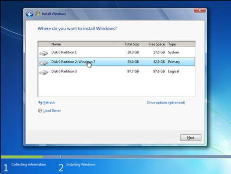 choosing windows how to dual boot windows 7 with xp or vista easeus
