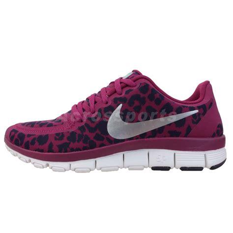 nike wmns free 5 0 v4 leopard 2013 womens cross running shoes ebay